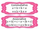 Associative, Distributive, and Commutative Properties