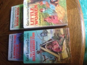 Classics Assorted Hardcover Novels
