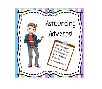 Astounding Adverbs Cards