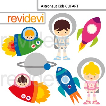 Astronaut Clip Art - Out of this world clipart