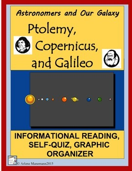 ASTRONOMERS & OUR GALAXY- Ptolemy, Copernicus, and Galileo