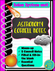Astronomy Bundle Cornell notes (28 Page Notes- filled and