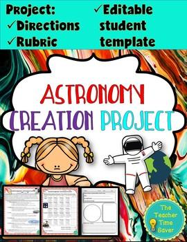 Astronomy Cartoon Project: Earth, Sun, and Moon