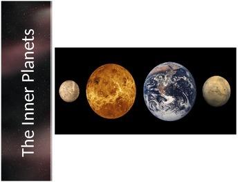 Astronomy - Inner Planets (terrestrials); Mercury, Venus,