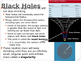 Astronomy Lecture Notes: Black Holes