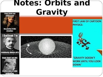 Astronomy Lecture Notes: Gravity and Orbital Motion