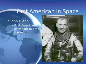 Astronomy - People in Space -  (POWERPOINT)