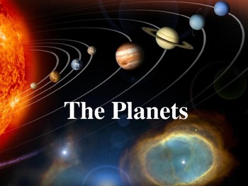 Astronomy - The Planets Powerpoint