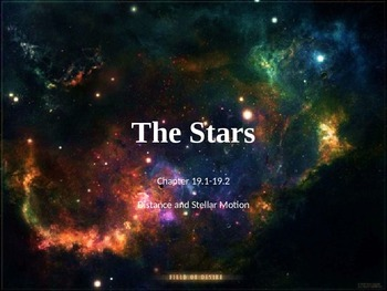Astronomy: The Stars (Distance and Motion)