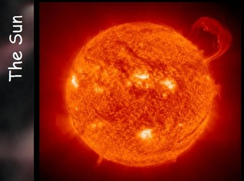 Astronomy - The Sun w/worksheet (SMART BOARD)