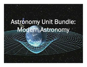 Astronomy Unit Bundle - Modern Astronomy Unit