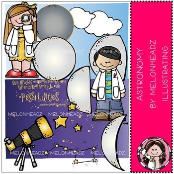 Melonheadz: Astronomy clip art