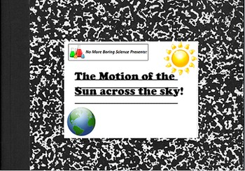 Astronomy/Earth Science Lab Activity - Tracking the Sun ac