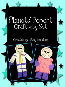 Astronaut Planets' Report Craftivity Set