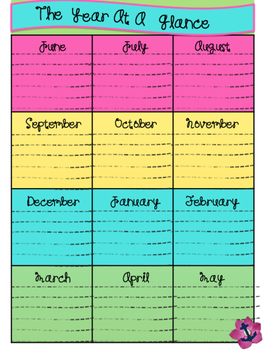 At A Glance Planners