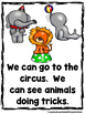 At The Circus  (A Sight Word Emergent Reader)