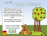 At the Apple Orchard: Apple Themed Tally Mark and Graphing