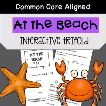 At the Beach Trifold Worksheet (5th Grade Reading Street 2
