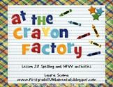 At the Crayon Factory