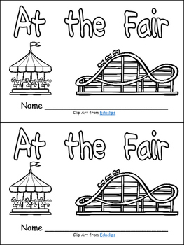 At the Fair (Carnival)- Nonfiction Leveled Reader- Level C