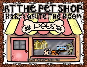 Pet Shop Read and Write the Room Center