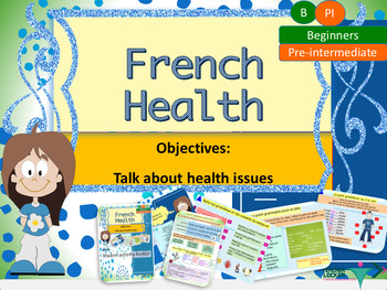 French health, santé full lesson for beginners