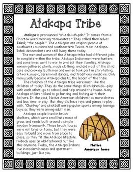 Atakapa Native American Tribe of Louisiana Informational Article