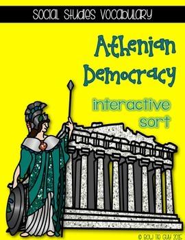 Athenian Representative & Direct Democracy {Interactive Vo