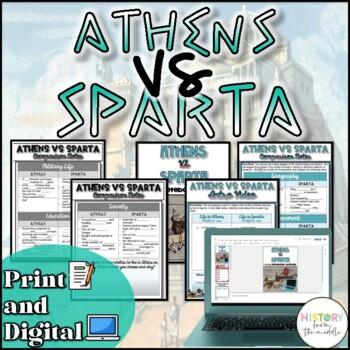 Athens VS Sparta Activity