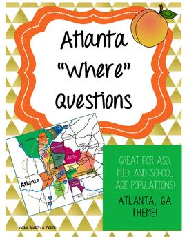 "Atlanta ""Where"" Questions"