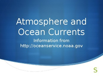 Atmosphere & Ocean Currents Notes