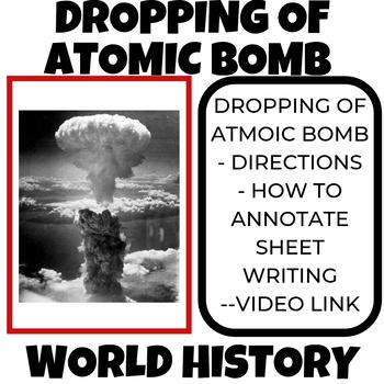 Atomic Bomb Assignment