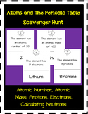 Atoms and The Periodic Table Scavenger Hunt