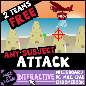 Attack Interactive - A FREE Review Game for Any Subject an