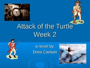"""Attack of the Turtle"" novel study week 2 power point"
