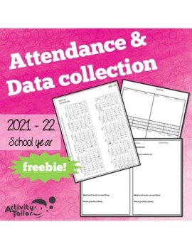 Attendance Form for Speech Therapy 2016-17 FREEBIE