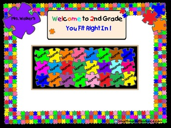 Attendance: You Fit Right in Puzzle Pieces