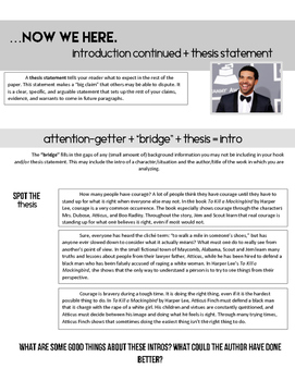 Attention-Getters + Thesis Statements: Drake Edition