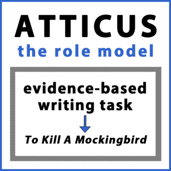 Atticus the Role Model Evidence-Based Writing To Kill a Mo