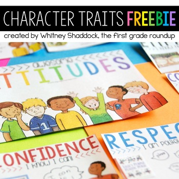 Attitude Anchor Charts FREEBIE