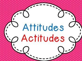 Attitudes- Bilingual,Music Clip Art IB PYP