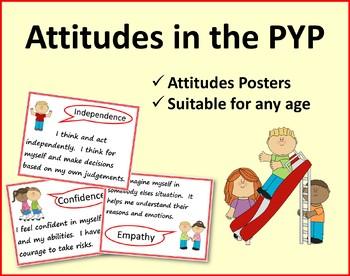 Attitudes in the PYP - {5 Essential Elements - Attitudes}