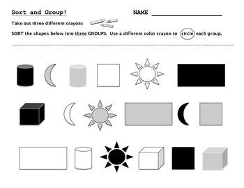 Attributes - Sort and Group - Assessment - Diagnostic - Pr