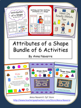 Attributes of a Shape Bundle of 5 Activities