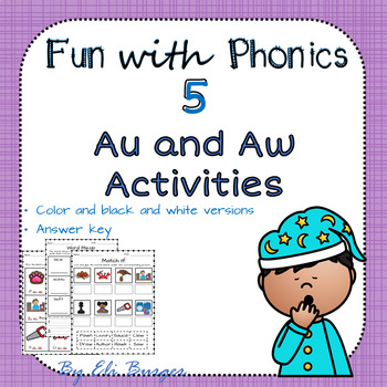 Au and Aw Worksheets
