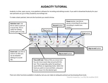 Audacity Tutorial