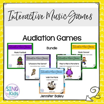 Audiation Games: A Growing Bundle