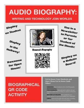 Audio Biography: QR Code Audio Biography Project