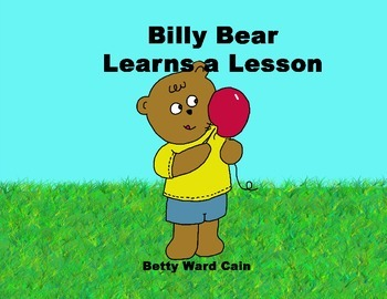 Audio Picture Book PowerPoint BILLY BEAR LEARNS A LESSON (