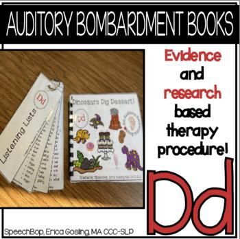Auditory Awareness Books - D!